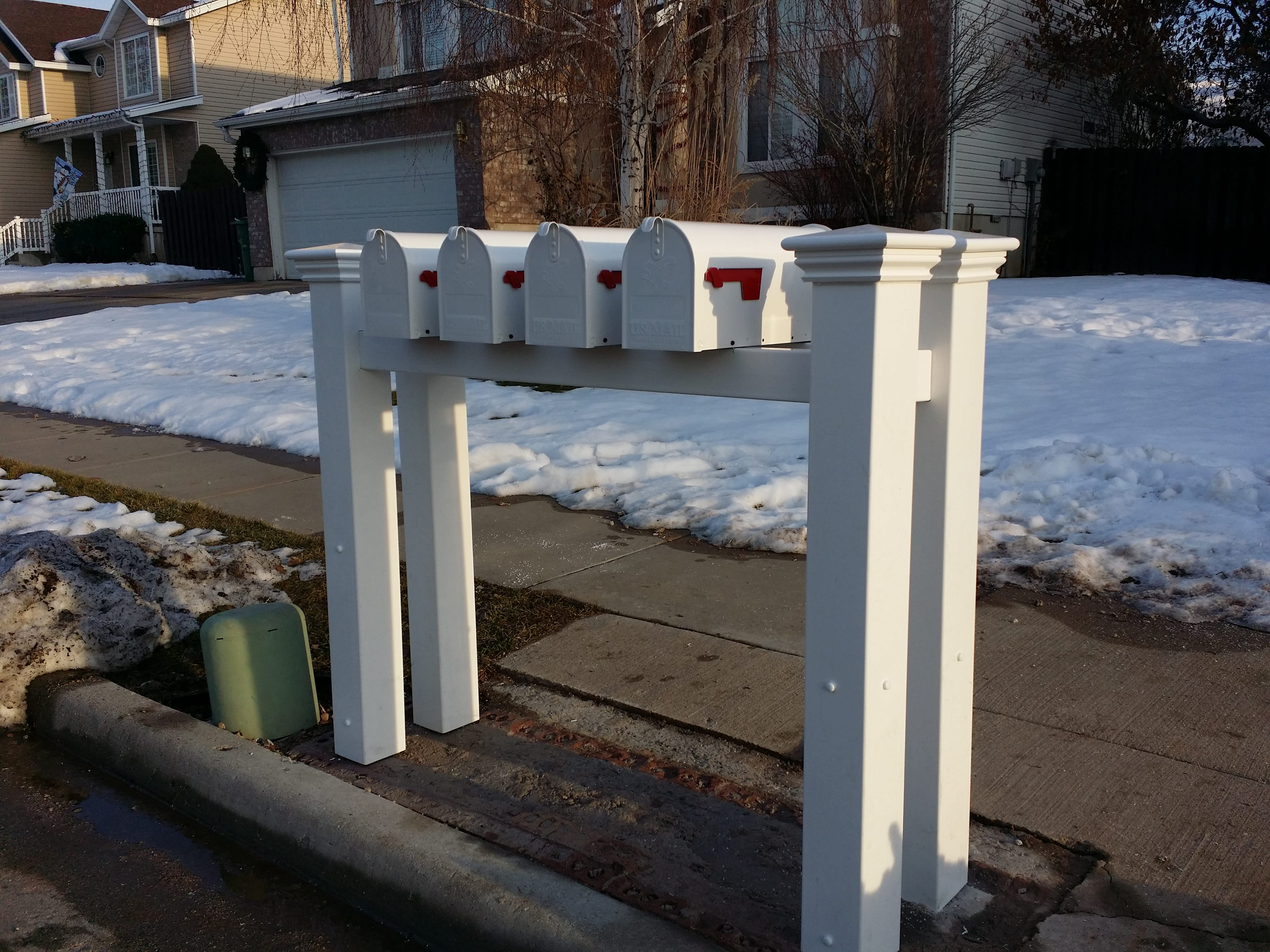 after new mailboxes
