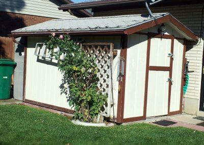 shed garage