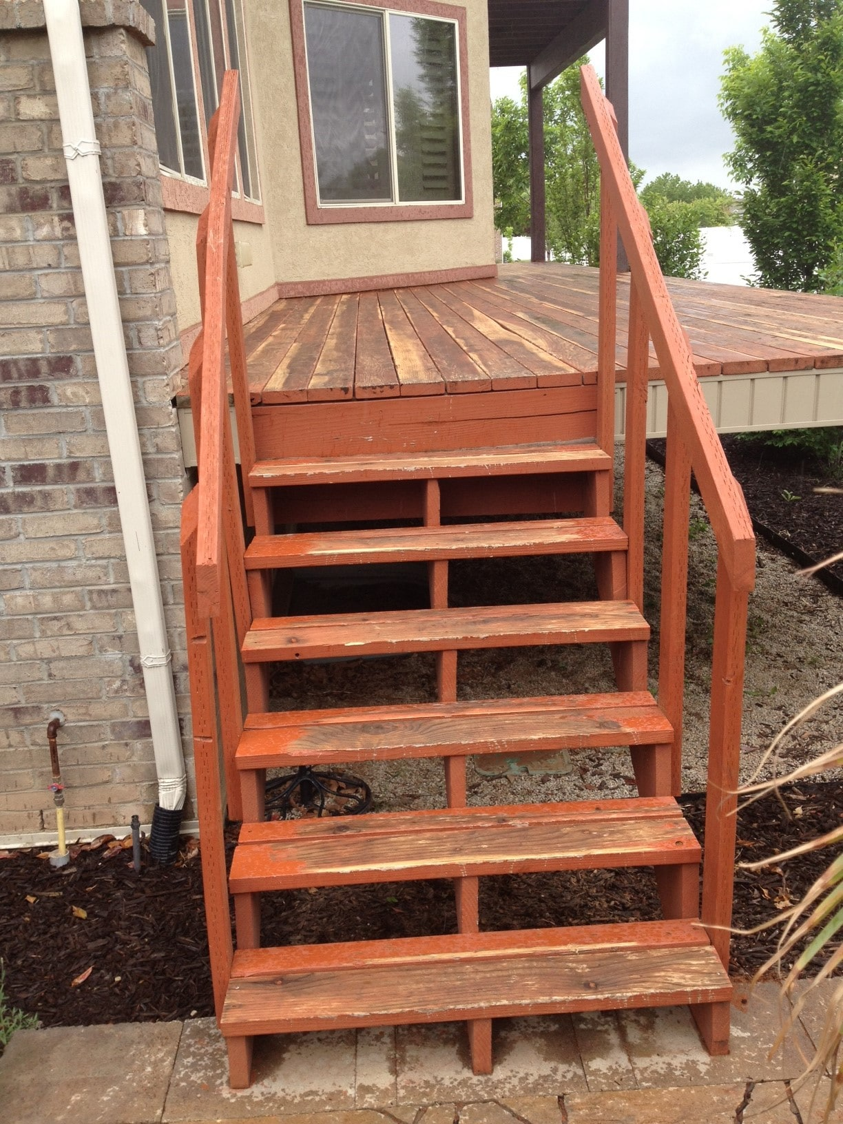 stairs before home repair services front