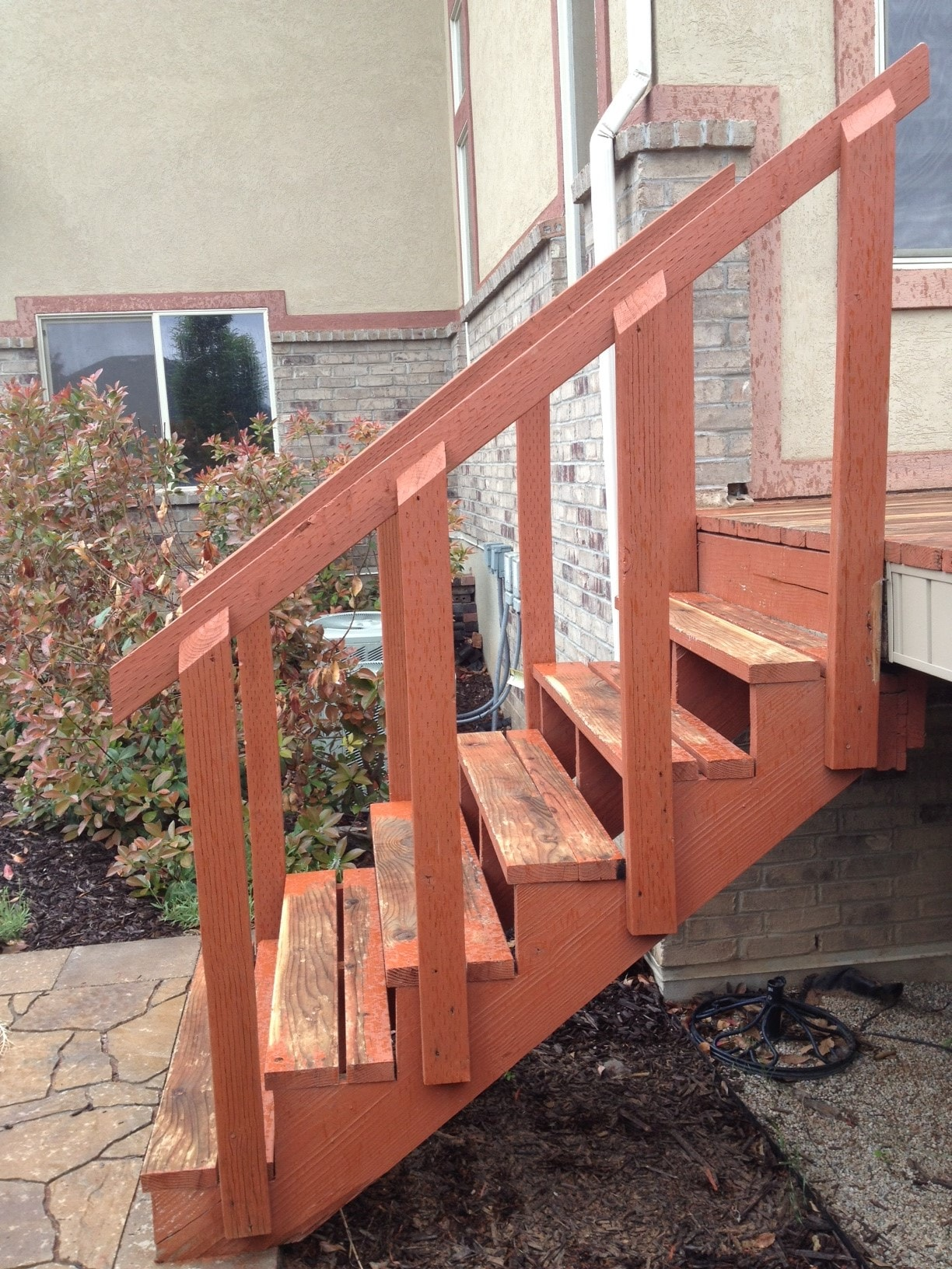 stairs before home repair services side
