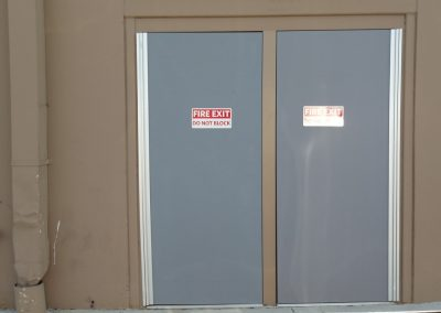 sams club doors Before-min